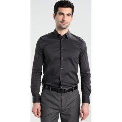 Koszule męskie na spinki: Sisley SLIM FIT Koszula biznesowa anthrazit