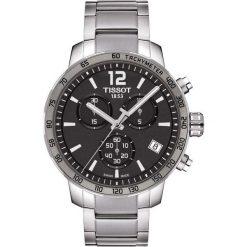 PROMOCJA ZEGAREK TISSOT T-SPORT T095.417.11.067.00. Szare zegarki męskie TISSOT, ze stali. W wyprzedaży za 1434,40 zł.