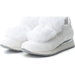 Sneakersy damskie: Sneakersy w kolorze białym