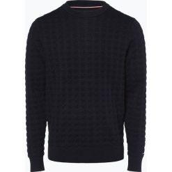 Tommy Hilfiger - Sweter męski, niebieski. Niebieskie swetry klasyczne męskie TOMMY HILFIGER, m, z dzianiny. Za 549,95 zł.