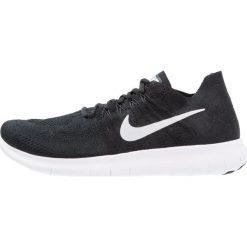 Nike Performance FREE RUN FLYKNIT 2 Obuwie do biegania neutralne black/white/anthracite/dark grey. Czarne buty sportowe damskie Nike Performance, z materiału, do biegania. W wyprzedaży za 466,65 zł.