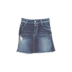 Spódnice krótkie Replay  WOOPWOOP. Niebieskie minispódniczki marki Replay. Za 351,20 zł.