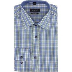Koszula carral 2314 długi rękaw custom fit zielony. Zielone koszule męskie Recman, m, z długim rękawem. Za 89,99 zł.