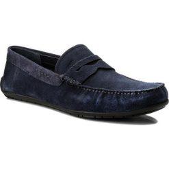Mokasyny JOOP! - Zenon 4140003959 Dark Blue 402. Niebieskie mokasyny męskie JOOP!, z materiału. W wyprzedaży za 399,00 zł.
