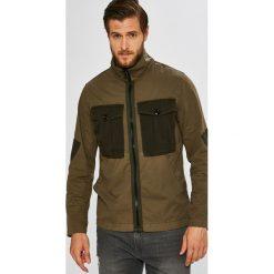 G-Star Raw - Kurtka. Brązowe kurtki męskie przejściowe G-Star RAW, l, z bawełny, retro. Za 699,90 zł.