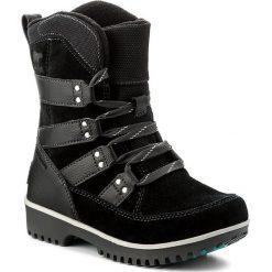 Kozaki dziewczęce: Śniegowce SOREL – Youth Meadow Lace NY2414 Black/Dark Grey 010