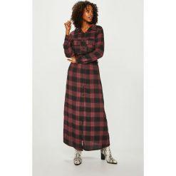 Answear - Sukienka. Szare długie sukienki marki ANSWEAR, na co dzień, s, z elastanu, casualowe, proste. Za 189,90 zł.
