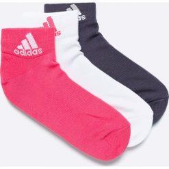 Adidas Performance - Skarpetki (3-pack). Szare skarpetki damskie adidas Performance. W wyprzedaży za 29,90 zł.