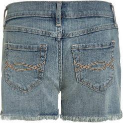 Abercrombie & Fitch CORE MIDI Szorty jeansowe blue denim. Niebieskie szorty jeansowe damskie Abercrombie & Fitch. Za 129,00 zł.