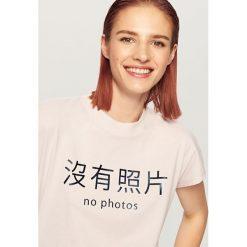 T-shirt z nadrukiem - Fioletowy - 2