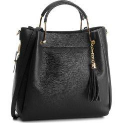 Torebka CREOLE - K10509  Czarny. Czarne torebki klasyczne damskie Creole, ze skóry, duże. W wyprzedaży za 229,00 zł.