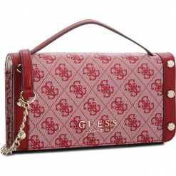 Torebka GUESS - Florence HWSG69 91790  RED. Czerwone torebki klasyczne damskie Guess, z aplikacjami, ze skóry ekologicznej, duże. W wyprzedaży za 279,00 zł.