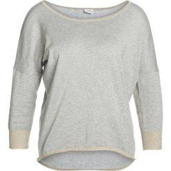 Bluzy rozpinane damskie: Deha MAGLIA SCOLLO A BARC Bluza marble grey melange chiaro