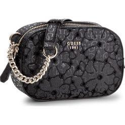 Torebka GUESS - Jayne (SG) Mini-Bag HWSG69 61700 BLA. Czarne listonoszki damskie Guess. W wyprzedaży za 279,00 zł.