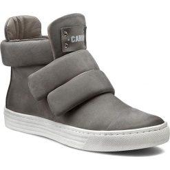 Sneakersy CARINII - O3512 Samuel 1137. Różowe botki damskie saszki marki Carinii, z materiału, z okrągłym noskiem. W wyprzedaży za 259,00 zł.