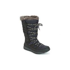 Śniegowce Dziecko Sorel  YOUTH WHITNEY LACE. Czarne buty zimowe chłopięce Sorel. Za 303,99 zł.