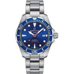 RABAT ZEGAREK CERTINA DS Action C032.407.11.041.00. Niebieskie zegarki męskie CERTINA, ze stali. W wyprzedaży za 2895,20 zł.