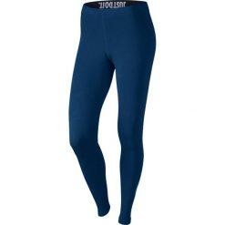 Nike Spodnie damskie W NSW LEG A SEE granatowe r. L (806927 429). Niebieskie spodnie sportowe damskie marki Nike, l. Za 140,71 zł.