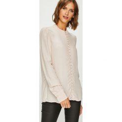 Vero Moda - Koszula. Szare koszule damskie marki Vero Moda, l, z tkaniny, casualowe, z długim rękawem. Za 169,90 zł.