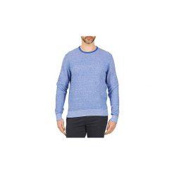 Swetry Tommy Hilfiger  TWISTED CTN STRUCTURED. Niebieskie swetry klasyczne męskie TOMMY HILFIGER, l. Za 455,20 zł.