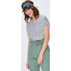 Medicine - Koszula Basic. Szare koszule wiązane damskie MEDICINE, l, z tkaniny, casualowe, z klasycznym kołnierzykiem, z krótkim rękawem. W wyprzedaży za 49,90 zł.