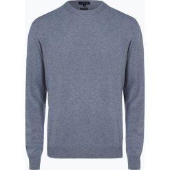 Andrew James - Sweter męski z dodatkiem kaszmiru, niebieski. Niebieskie swetry klasyczne męskie Andrew James, m, z kaszmiru. Za 229,95 zł.