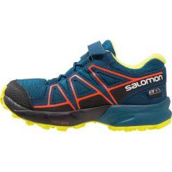 Buty do biegania męskie: Salomon SPEEDCROSS CSWP  Obuwie do biegania Szlak moroccan blue/poseidon/scarlet ibis