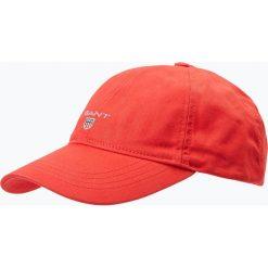 Gant - Męska czapka z daszkiem, czerwony. Czerwone czapki z daszkiem męskie GANT. Za 129,95 zł.