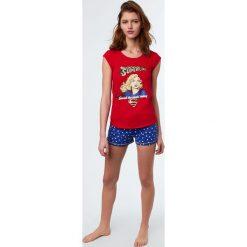 Piżamy damskie: Etam - Top piżamowy Peace x DC Comics