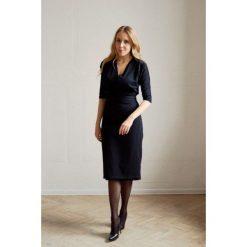 Sukienki ciążowe: Sukienka Filomena czarna 32/34