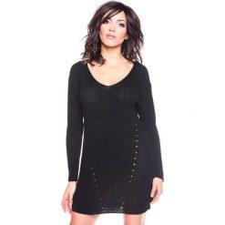 """Sukienki hiszpanki: Sukienka """"Ness"""" w kolorze czarnym"""