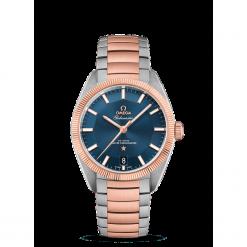 ZEGAREK OMEGA GLOBEMASTER 130.20.39.21.03.001. Niebieskie zegarki męskie marki Garmin. Za 41200,00 zł.
