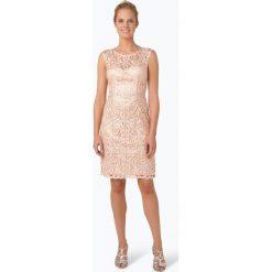 Sukienki: Niente – Damska sukienka wieczorowa, pomarańczowy