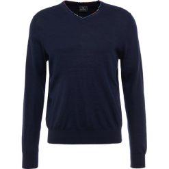 PS by Paul Smith Sweter dark navy. Niebieskie swetry klasyczne męskie PS by Paul Smith, l, z elastanu. Za 819,00 zł.