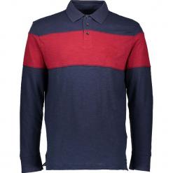 Koszulka polo w kolorze granatowo-czerwonym. Niebieskie koszulki polo marki GALVANNI, l, z okrągłym kołnierzem. W wyprzedaży za 99,95 zł.