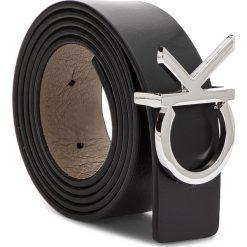 Pasek Damski CALVIN KLEIN - Ck Rev Belt Giftbox K60K604753 85 910. Brązowe paski damskie marki Calvin Klein, w paski, ze skóry. Za 299,00 zł.