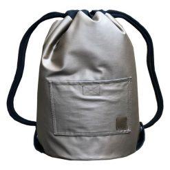 OLD GOLD & BLACK dwustronny plecak SACK IT!. Szare plecaki męskie marki Pakamera. Za 165,00 zł.