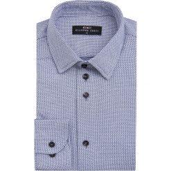 Koszula SIMONE1D KDNS000078. Niebieskie koszule męskie na spinki Giacomo Conti, m, z bawełny, z klasycznym kołnierzykiem, z długim rękawem. Za 199,00 zł.