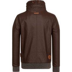 Naketano Kurtka ze skóry ekologicznej brown. Czarne kurtki męskie skórzane marki Reserved, l. Za 419,00 zł.
