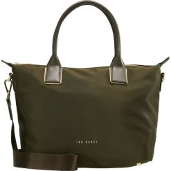 Ted Baker SMALL TOTE Torebka khaki. Czarne torebki klasyczne damskie marki Ted Baker, z materiału. Za 439,00 zł.