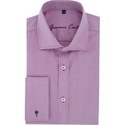 Koszula RICCARDO 16-05-20-K. Fioletowe koszule męskie na spinki marki Reserved, l, z bawełny. Za 229,00 zł.