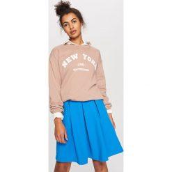 Spódnica z kieszeniami - Niebieski. Niebieskie spódniczki dziewczęce Reserved. W wyprzedaży za 29,99 zł.