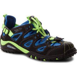 Sandały męskie skórzane: Sandały SUPERFIT – 2-00366-02 M Schwarz Kombi