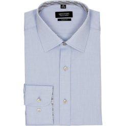 Koszula bexley 2515 długi rękaw slim fit niebieski. Niebieskie koszule męskie slim Recman, m, z długim rękawem. Za 139,00 zł.
