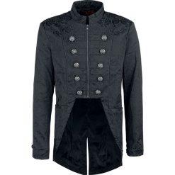 Płaszcze męskie: KuroNeko Victorian Coat Płaszcz czarny
