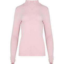 Jasnoróżowy Sweter Rashness. Czerwone swetry klasyczne damskie Born2be, na jesień, m. Za 59,99 zł.