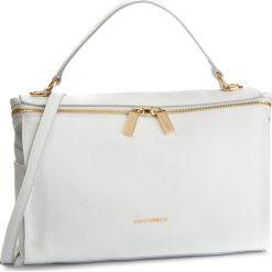 Torebka COCCINELLE - DHA Atsuko E1 DHA 18 01 01 Blanche H10. Białe torebki klasyczne damskie Coccinelle, ze skóry. Za 1549,90 zł.