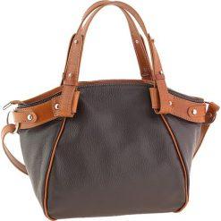 Torebki klasyczne damskie: Skórzana torebka w kolorze brązowym – 30 x 25 x 16 cm