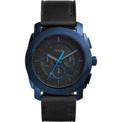 Zegarek FOSSIL - Machine FS5361 Black/Blue. Różowe zegarki męskie marki Fossil, szklane. W wyprzedaży za 549,00 zł.