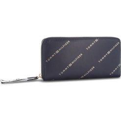 Duży Portfel Damski TOMMY HILFIGER - Iconic Tommy Za Wlt AW0AW05759 902. Niebieskie portfele damskie TOMMY HILFIGER, ze skóry ekologicznej. W wyprzedaży za 239,00 zł.